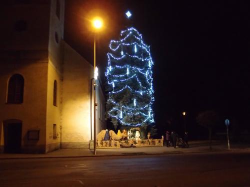 Vánoční výzdoba města