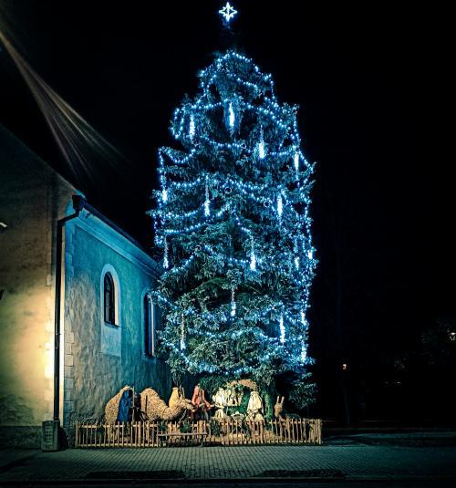 Vánoční výzdoba města 1