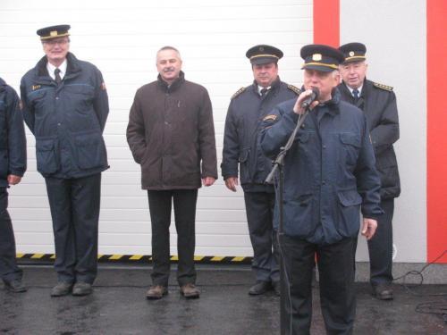 Slavnostní otevření nové hasičské zbrojnice 2016